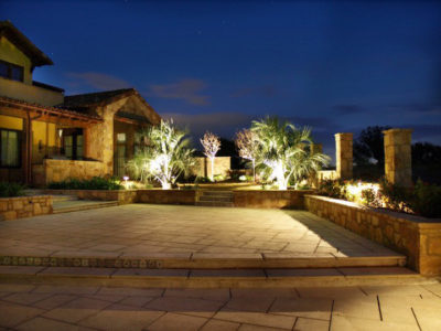 led landscape lighting deck lights